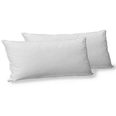 cotton polyester gel filled king size pillow set of 2