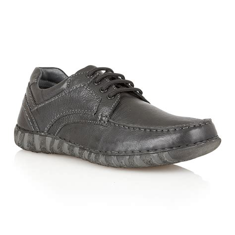 Sepatu Casual Pria Bally Mocasin Denim Black Size 39 43 lotus winsford lace up casual moccasins in black for lyst