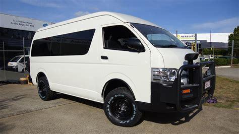 Toyota Hiace Commuter Accessories Toyota Hiace