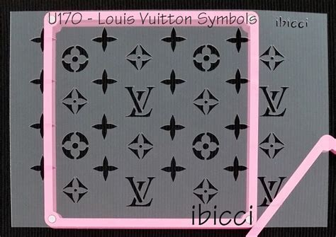 lv pattern for cake ibicci louis vuitton cake and cookie stencils
