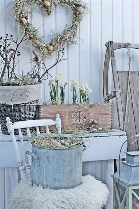 Vintage Garden Decor by 20 Inspiring Easter Decor With Vintage Touches Home
