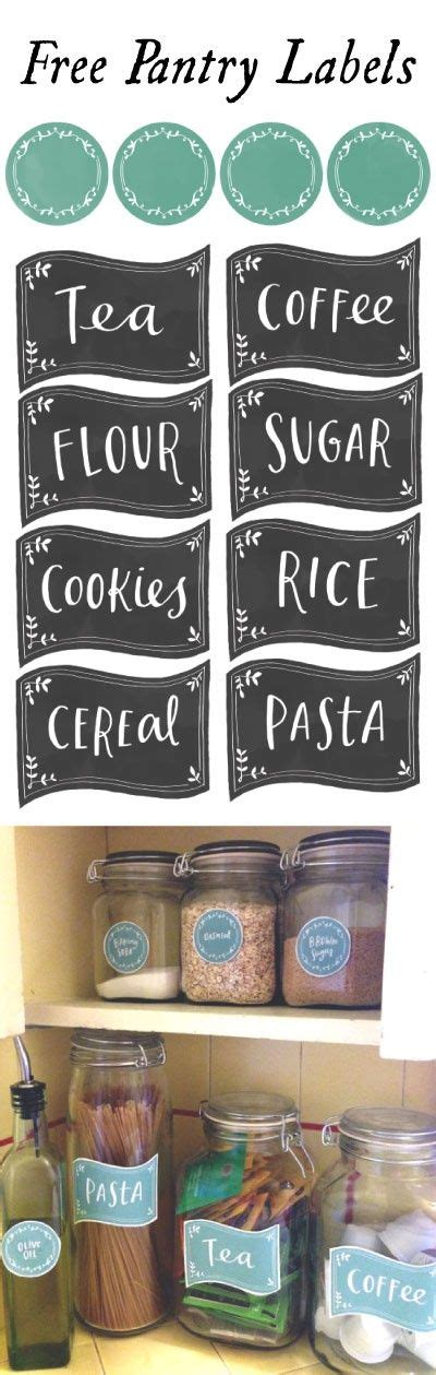 kitchen spice jar pantry organizing labels worldlabel blog the busy bee free pantry label printables