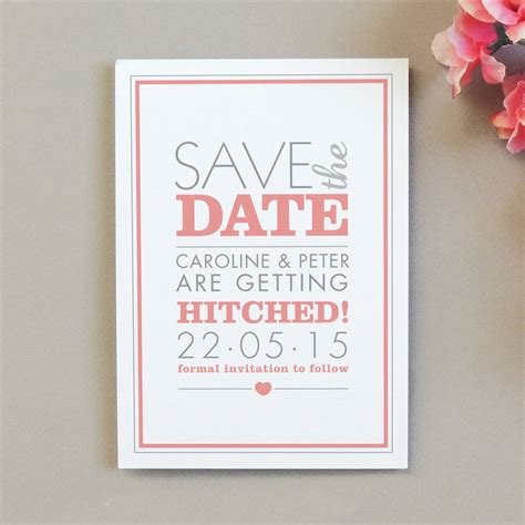 Save The Date Invitations by Amelia Save The Date Invitation By Project Pretty