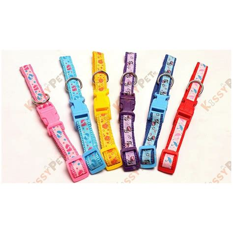 Box Bell Hk 201 lovely prints collar with bell kissypet