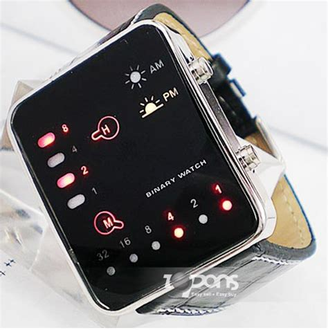 china wholesale cool digital watches with binary system