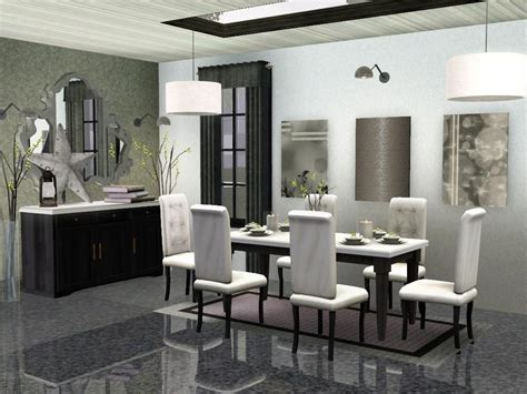 Dining Room Set Sims 3 Sim Man123 S Midtown Dining Room