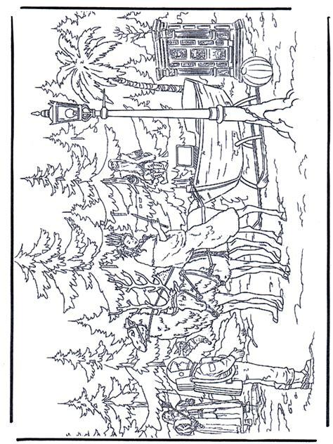 narnia  kleurplaat narnia
