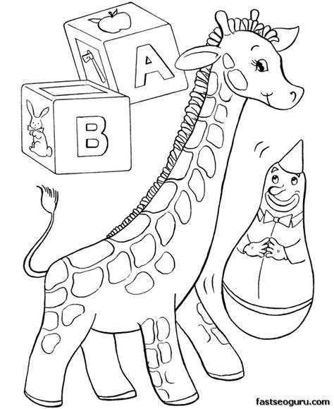 coloring pages for christmas to print out print out christmas coloring pages kids toy giraff