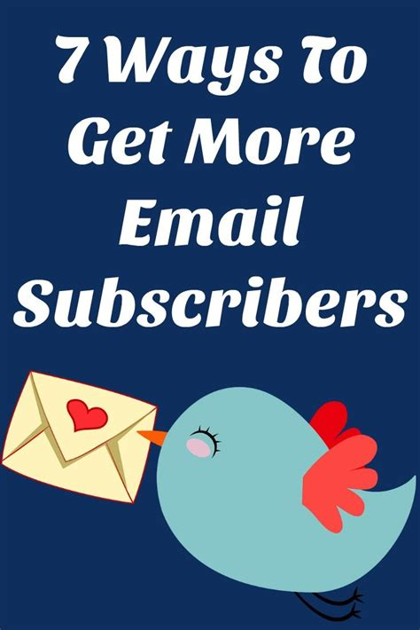 7 Ways To Get More Followers On by 7 Ways To Get More Email Subscribers Work In My Pajamas