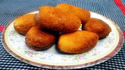 bahan2 untuk membuat roti goreng resep dan cara membuat roti goreng isi ayam youtube