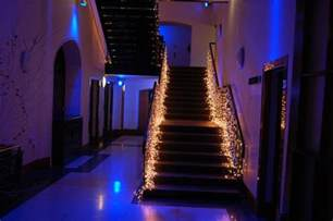 decorate with lights 3 easy ways to decorate the stair banister
