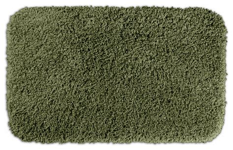 Forest Green Bathroom Rugs Serenity Plush Forest Green 24 X 40 Bath Rug