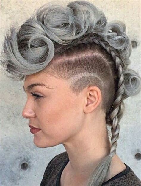 Hairstyles With Hair by Best 12 Mohawk Hairstyles For And Hairstyles