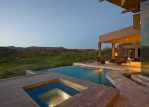 Incroyable Construire Jardin D Hiver #2: amenagement-jardin-avec-piscine-idees-eclairage-exterieur.jpg