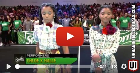 chloe and halle bailey national anthem watch this amazing performance of the national anthem