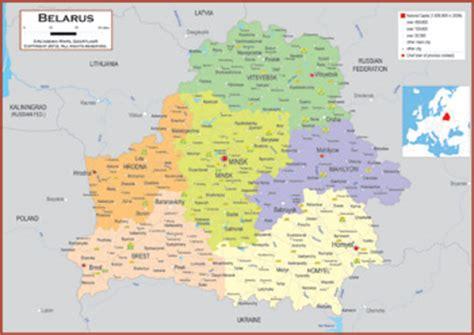 political map of belarus belarus maps academia maps