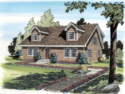 Cape Cod Design Cape Cod House Plan 4 Bedrms 3 Baths 1757 Sq Ft