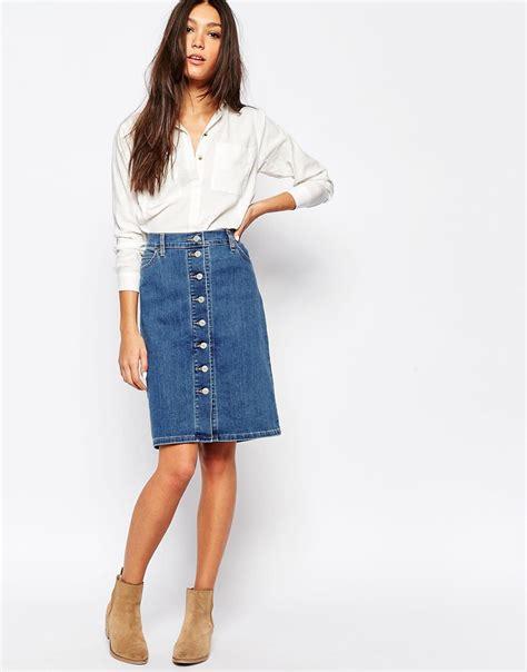 29 denim skirts fashion design trends premium psd