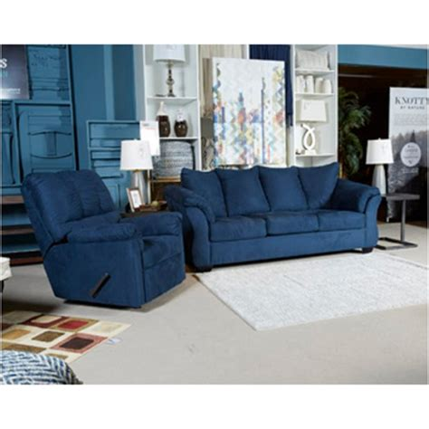ashley furniture blue couch 7500738 ashley furniture darcy blue living room sofa