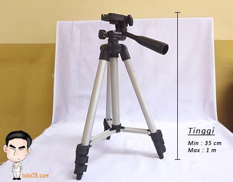 Tripod Hp Tinggi Tripod Kamera Prosumer Tinggi 1 M Berat 420gr Kapasitas 1 5kg