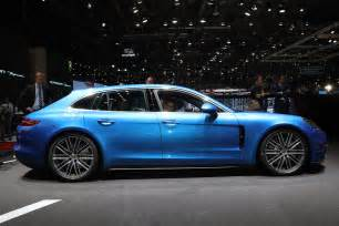 Porsche Panamera Sport Turismo Concept Best Cars Of The 2017 Geneva Motor Show Motor Trend Favorites