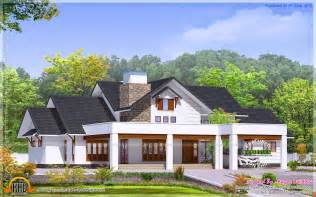 Elegant bungalow elevation kerala home design and floor plans
