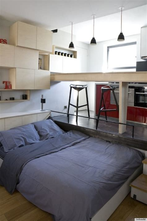 how large is 130 square feet a small paris apartment that could fit in your dorm room