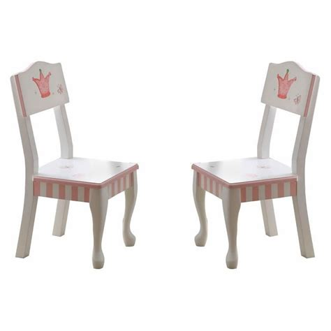 princess and chairs princess the frog set of 2 chairs