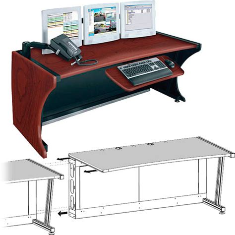 Middle Atlantic Desk by Middle Atlantic Ld 6430dc Ra Lcd Monitoring Desk W Right
