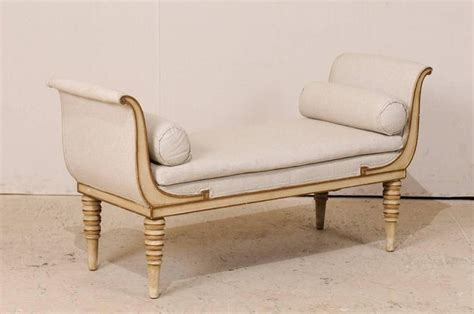daybed bench style french r 233 camier style daybed sofa or bench with bolster