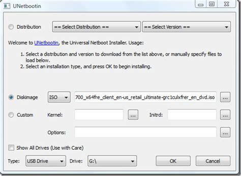 install linux iso usb windows 7 установка windows 7 через usb флешку unetbootin