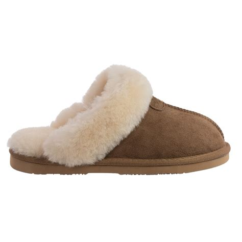 lamo sheepskin slippers lamo footwear scuff slippers for save 68