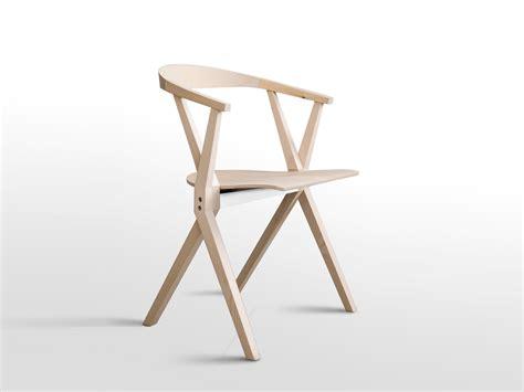 sedia pieghevole design chair b sedia in legno by bd barcelona design design