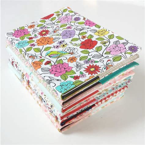 pattern fabric book cover sewing pattern fabric book covers