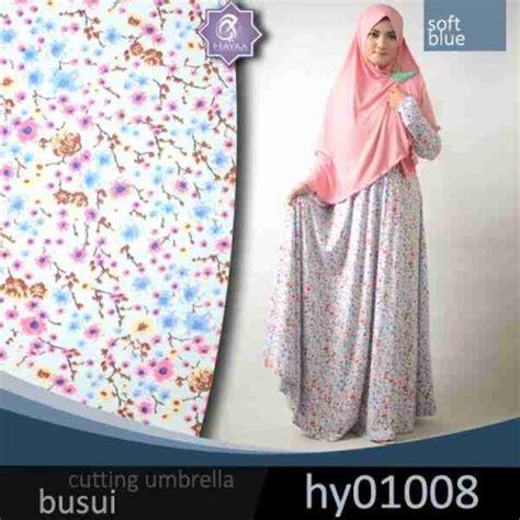 Syari Umbrella Bunga By Jannatin gamis jersey baju muslim remaja umbrella
