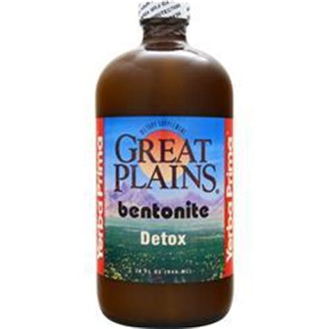 Great Plains Bentonite Detox Can Be Taken With Meals by Yerba Prima Great Plains Bentonite Detox On Sale At