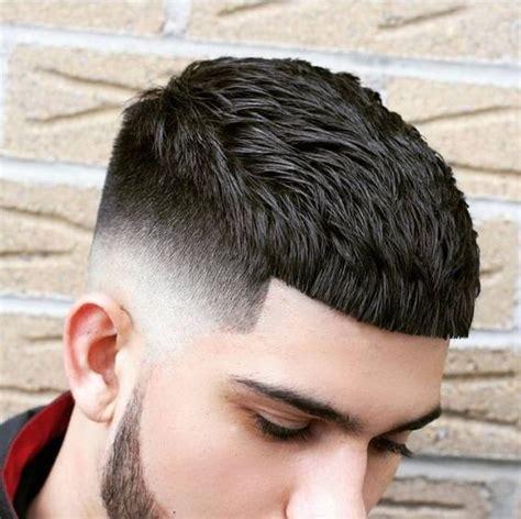 gaya rambut french crop asia