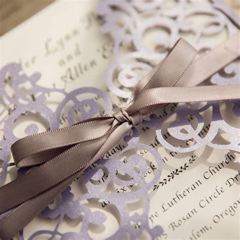 dirt cheap wedding invitations wedding invitations with ribbon www pixshark