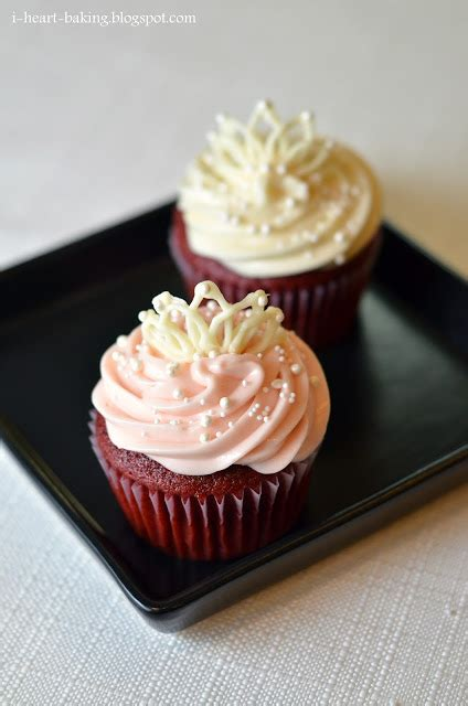 best wedding shower cupcake recipes i baking white chocolate tiaras and velvet cupcakes