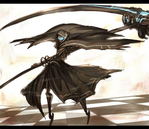 wallpaper anime grim reaper grim reaper scythe zerochan anime image board