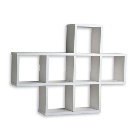 Wall Mountable Shelves Shop Danya B 31 In W X 23 In H X 5 5 In D Wood Wall