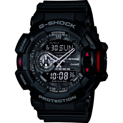 casio g shock ga400 black ga 400 1ber casio mens g shock black chronograph