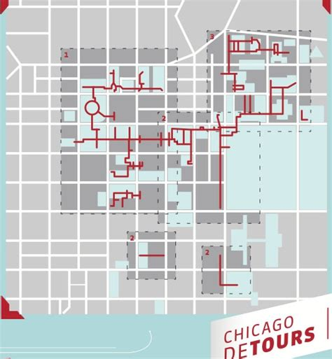 chicago pedway map outside the box mapping the pedway a tour guide s take