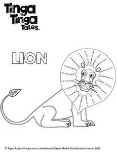 Tinga Tinga Taies Colouring Pages