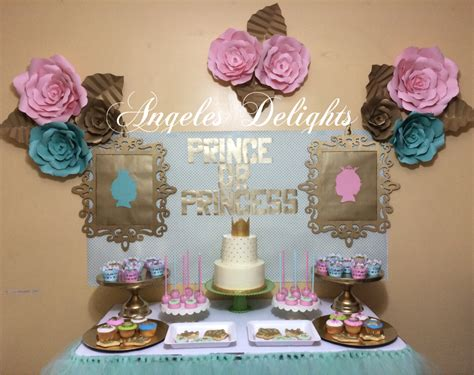 Prince or Princess Gender Reveal Party Ideas   Photo 2 of 8   Catch My Party