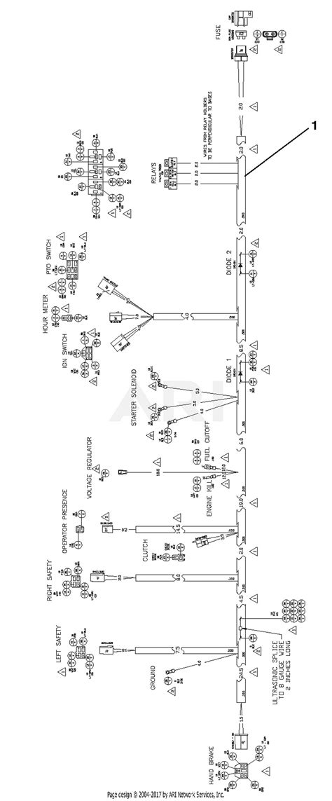 Gravely 994604 000101 Gsrka1934s Parts Diagram For