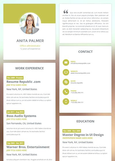 new resume templates learnhowtoloseweight net
