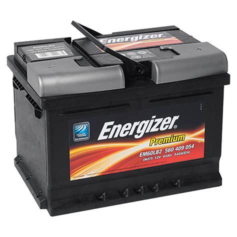 Auto Batterien energizer autobatterie premium em60 lb2 60 ah 12 v