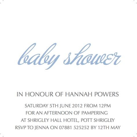 Baby Shower Writing cococards baby shower invitations