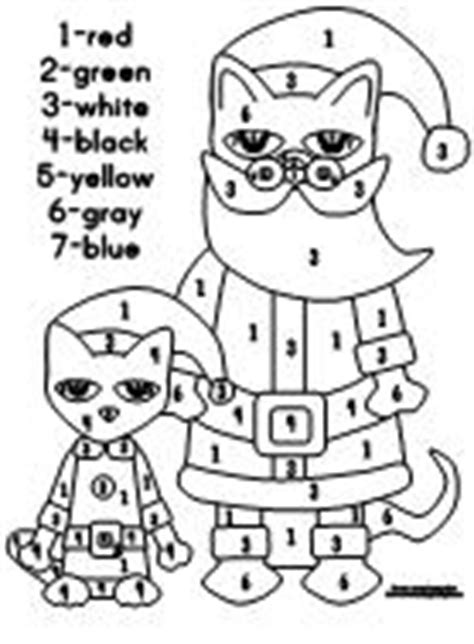 Making Learning Fun | Pete the Cat Saves Christmas Printables
